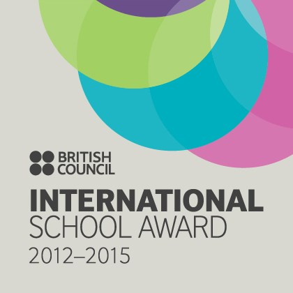 International Schools Award - British Council International school award logo