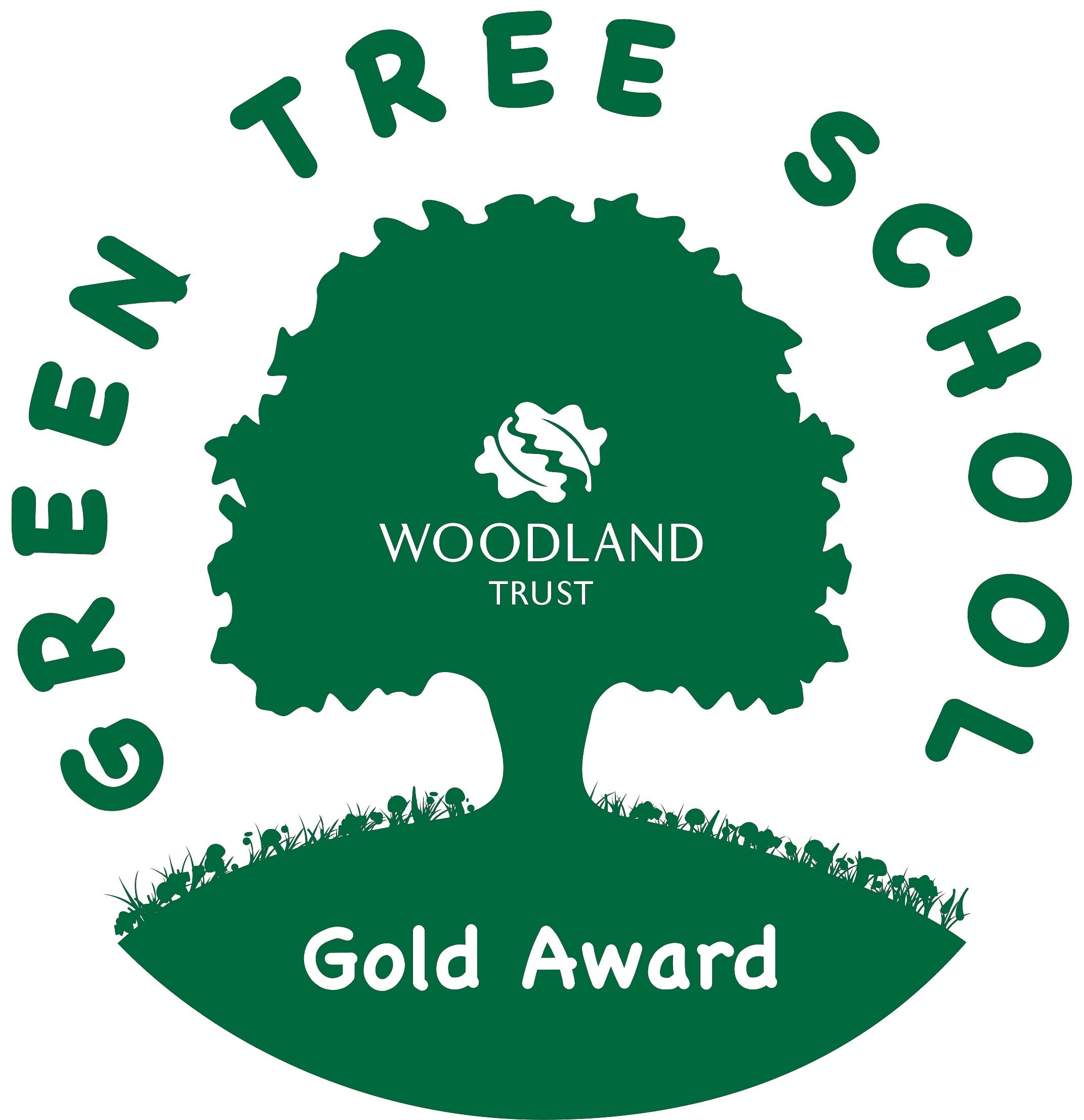 Woodland Trust Green Tree School Award Woodland trust logo