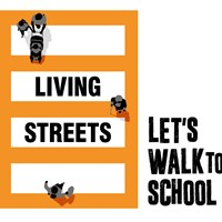 Living Streets Living streets - let's walk to school logo