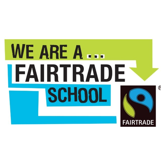 Fairtrade Schools Award We are a fairtrade school badge