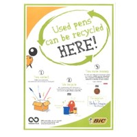 Terracycle pen recycling scheme Pen recycling scheme poster